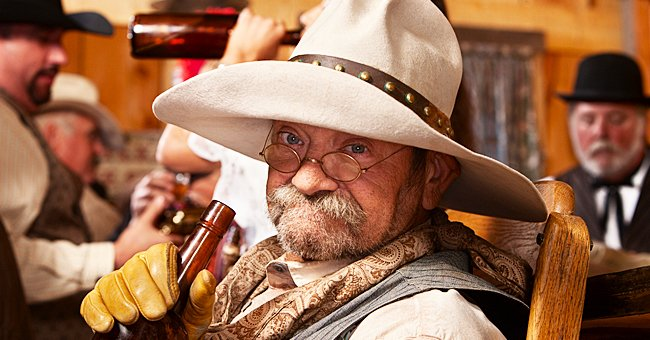 Daily Joke: Dog Challenges Cowboy to a Fight in a Bar