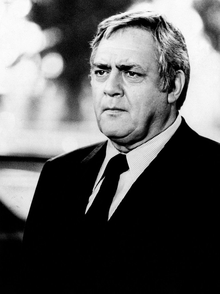 Canadian-born American actor Raymond Burr acting in the TV series Kingston Confidential, circa 1976 | Photo: Getty Images