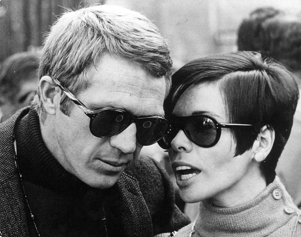 Steve McQueen et Neile McQueen à San Francisco le 1er août 1968. l Source : Getty Images