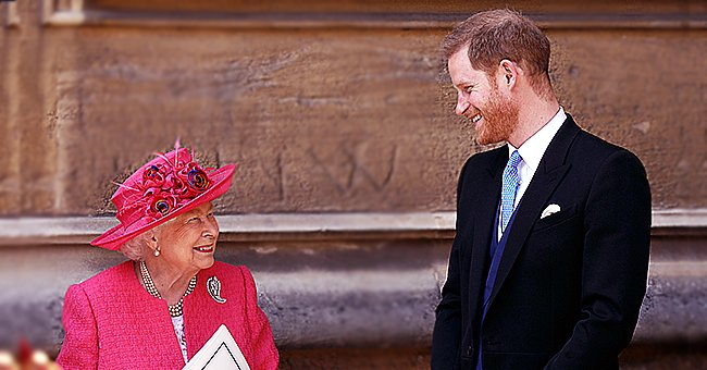 Queen Elizabeth Appears to Support Prince Harry's Latest Project in Video before He Steps Back from Royal Duties