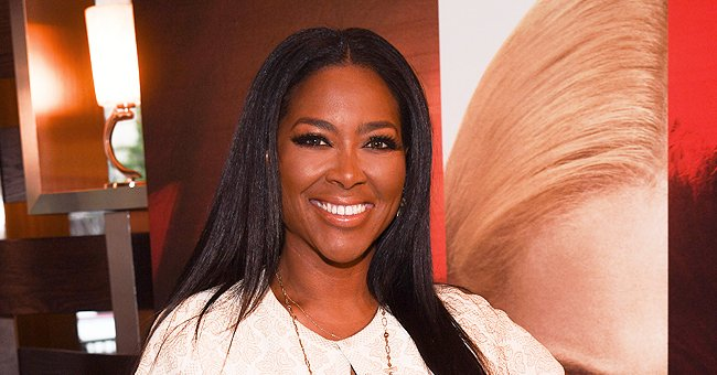 Kenya Moore's Printed Yellow Dress Is So Chic — See Her New Photo