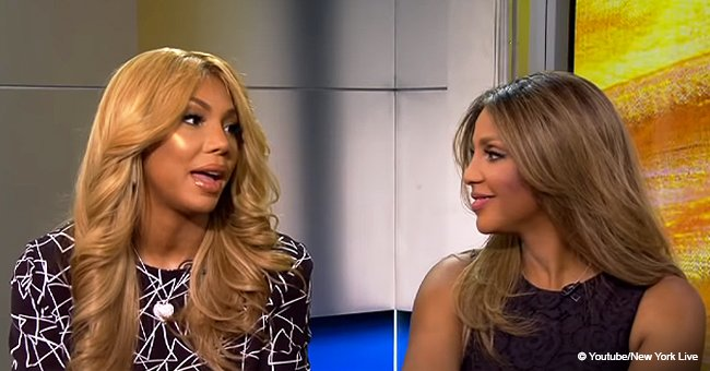 Tamar Braxton Captures Hearts with an Adorable Photo of Sister Toni Sleeping