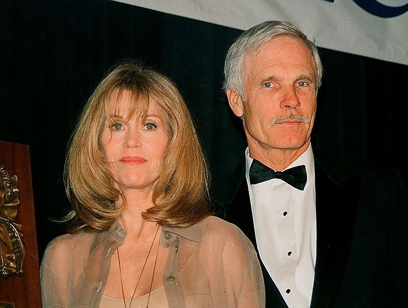 Ted Turner and ex-wife Jane Fonda circa 1993 | Source Getty Images