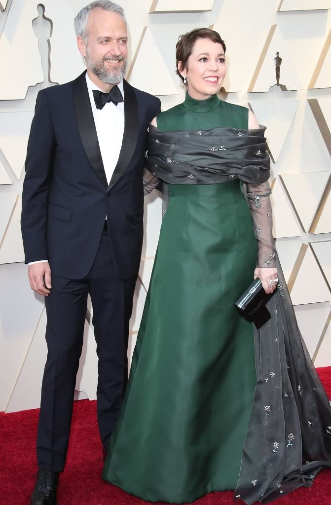 Ed Sinclair and Olivia Colman attend the 91st Annual Academy Awards at Hollywood and Highland | Getty Images