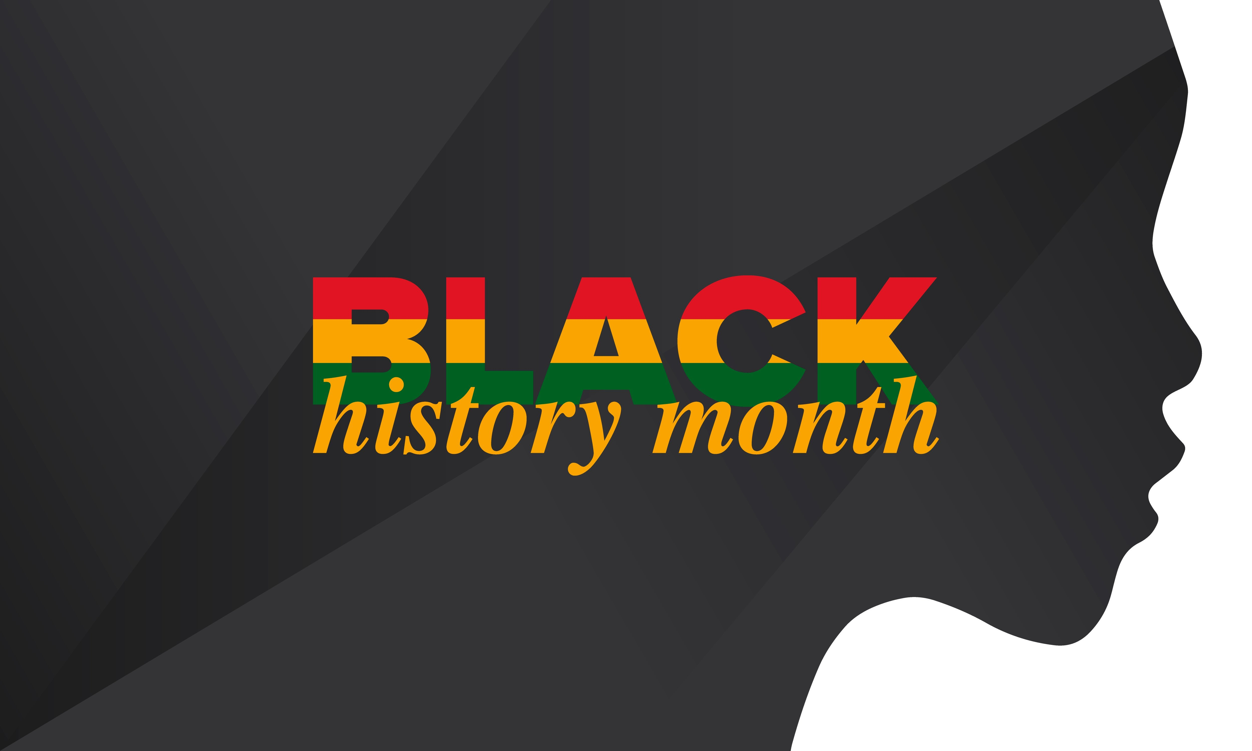 Black History Month. African American History. Celebrated annual. In February in United States and Canada. In October in Great Britain. Poster, card, banner, background Photo: Getty Images
