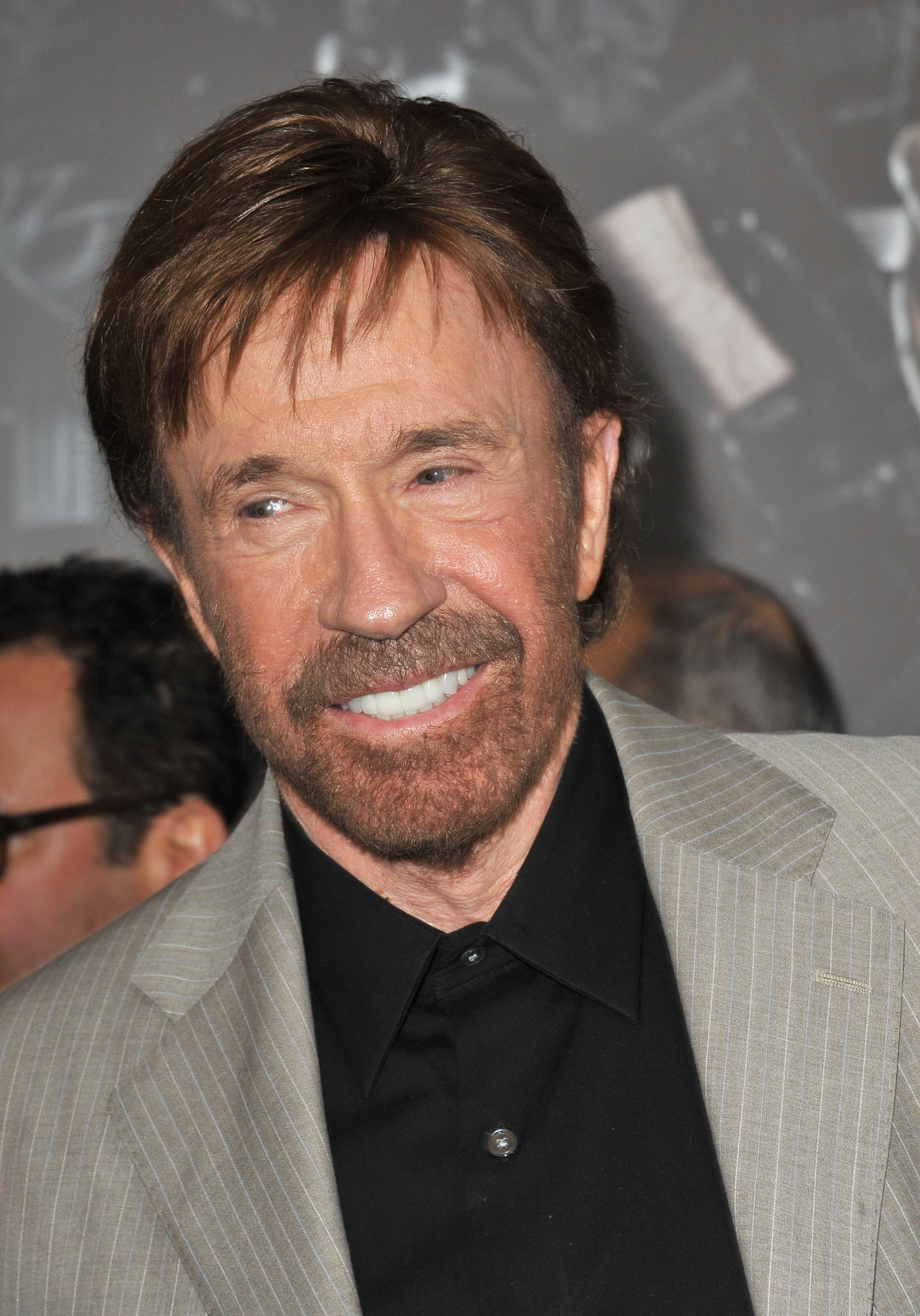 Chuck Norris. Image Credit: Getty Images