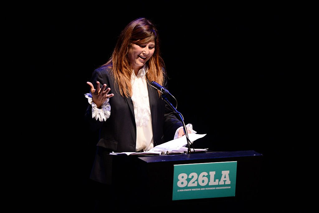 Actress Catherine Keener speaks onstage during 826LA's Tell Me A Story at The Wiltern on June 2, 2016. | Photo: Getty Images