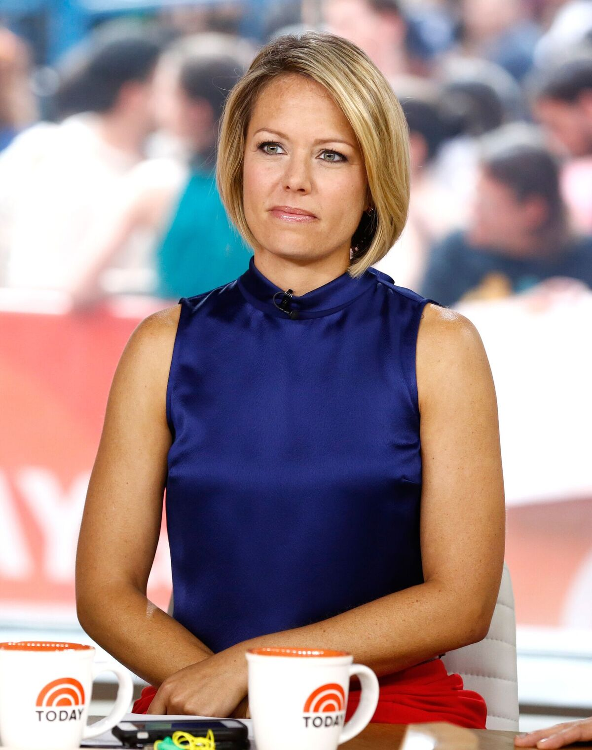 "Dylan Dreyer appears on NBC News' ""Today"" show on September 01, 2014 