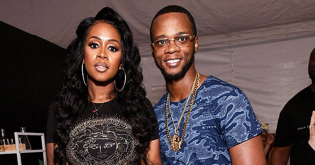 Remy Ma, Husband Papoose & Daughter Reminisce All Rock Kimonos for Her Extended Birthday Party