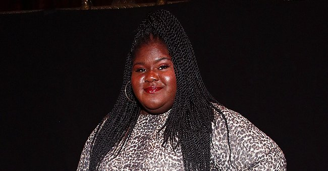 Gabourey Sidibe of 'Precious' Tries to Work at Home but Pet Cat Aaron Disturbs Her