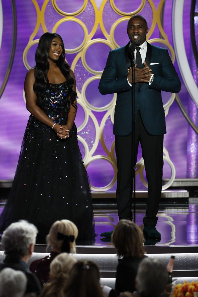 Idris Elba presents Miss Golden Globe 2019 Isan Elba onstage during the 76th Annual Golden Globe Awards at The Beverly Hilton Hotel on January 06, 2019, in Beverly Hills, California. | Source: Getty Images.