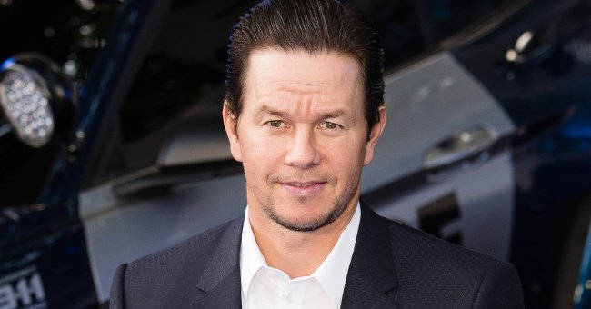'The Departed' Star Mark Wahlberg Enjoys Sunny Day Playing Pool Games with 3 Kids