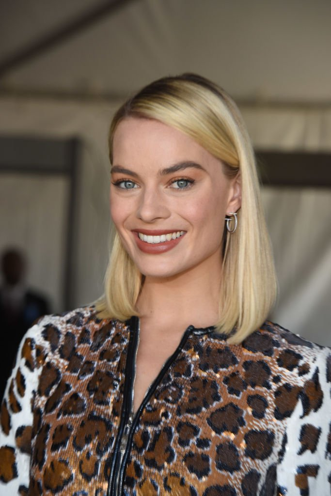 Margot Robbie en mars 2018 à Santa Monica. Photo : Getty Images