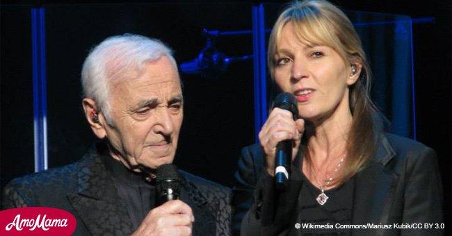 Katia, la fille de Charles Aznavour mariée avec le cousin d'un célèbre chanteur