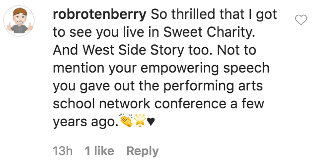 A fan commented on a photo of Debbie Allen posing in a black top hat in 1986 for Sweet Charity | Source: Instagram.com/therealdebbieallen