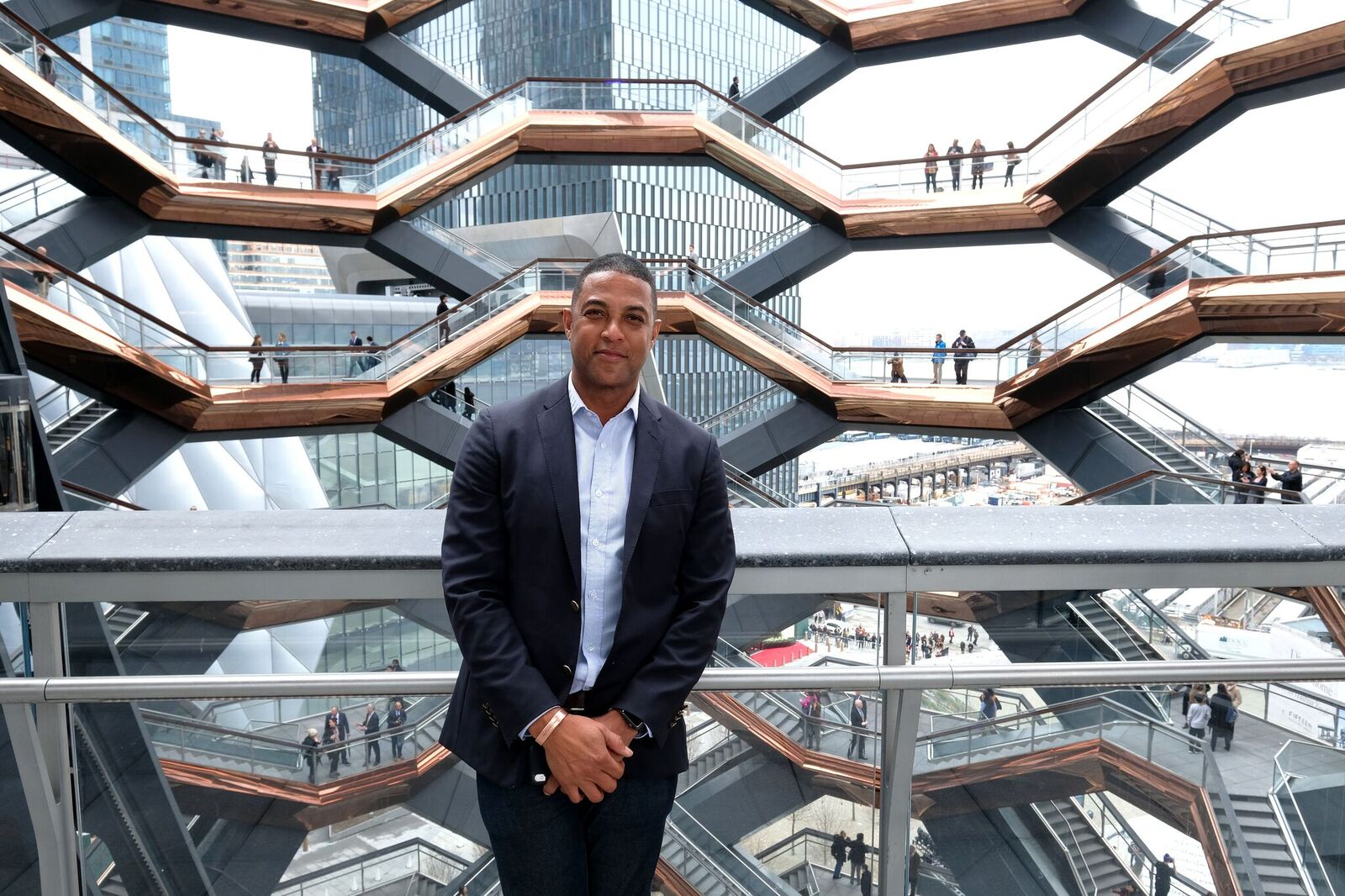 Don Lemon attends Hudson Yards, New York's Newest Neighborhood, Official Opening Event on March 15, 2019 | Photo: Getty Images