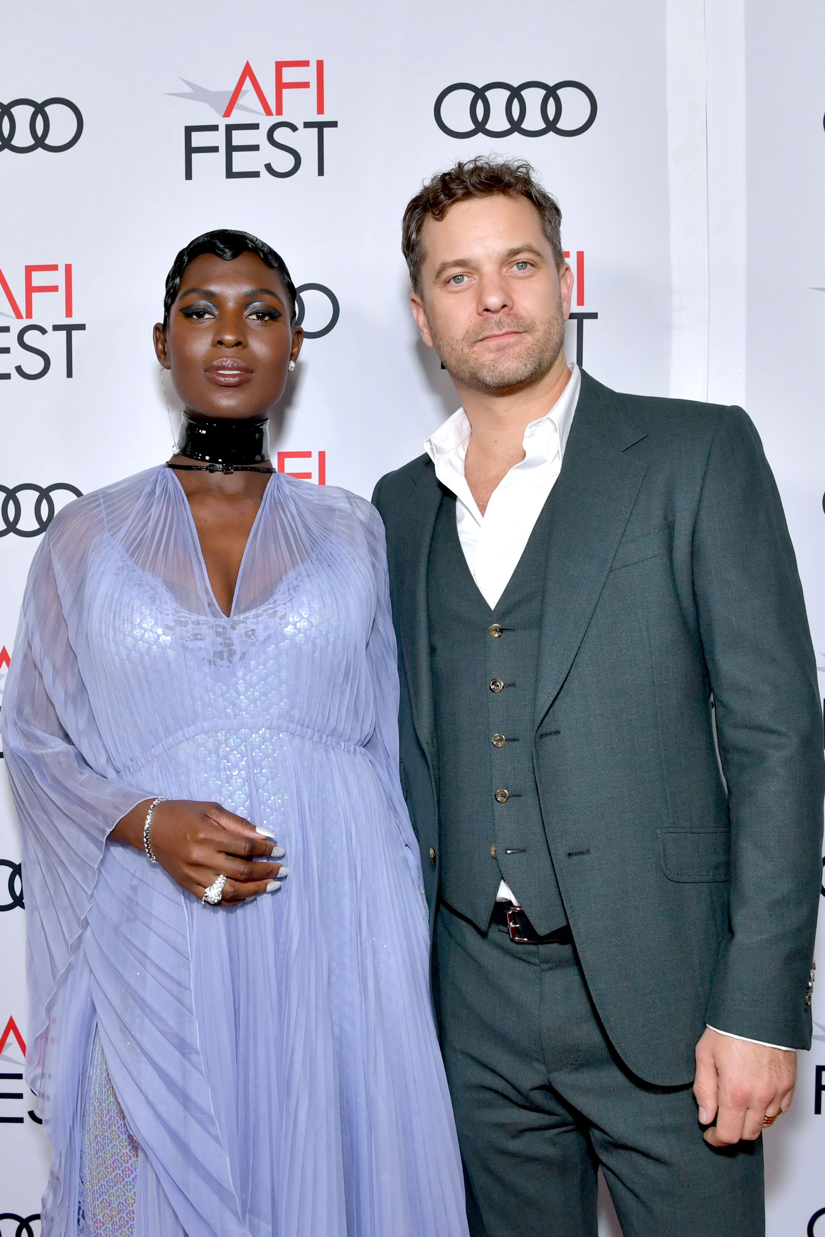 """Jodie Turner-Smith and Joshua Jackson attend the """"Queen & Slim"""" Premiere at AFI FEST 2019 presented by Audi at the TCL Chinese Theatre on November 14, 2019 