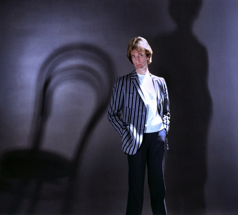Robin Gibb, 1990   Photo: Getty Images