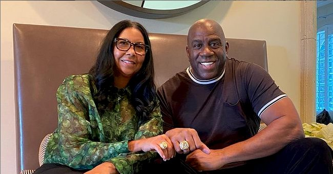 Magic Johnson's Wife of 29 Years Stuns in Colorful Jumpsuit in TBT Snap from Hawaiian Vacation