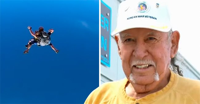 US Army Veteran Realizes a Dream by Skydiving on His 90th Birthday