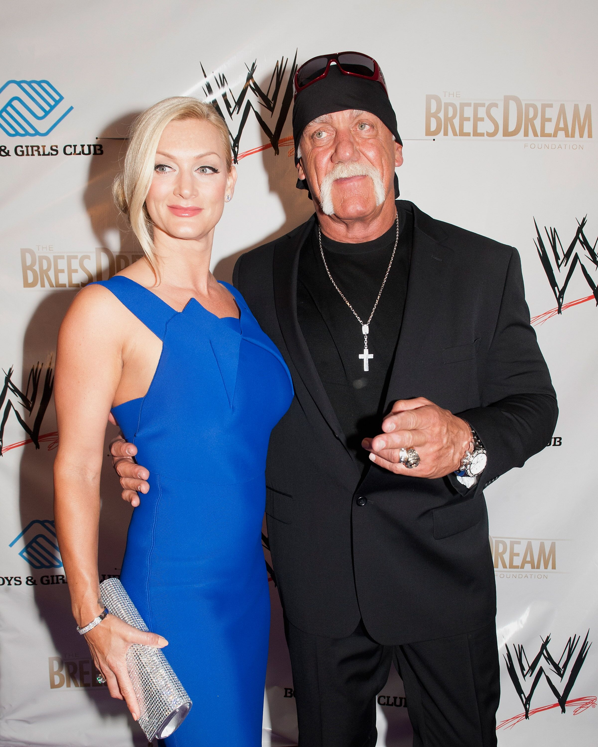 ennifer McDaniels and Hulk Hogan attend WWE's 2014 SuperStars For Kids at the New Orleans Museum of Art  | Getty Images