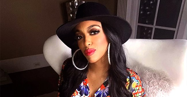 RHOA's Porsha Williams Shows Toned Buttocks in Tight Leggings While Working Out with Dumbbells