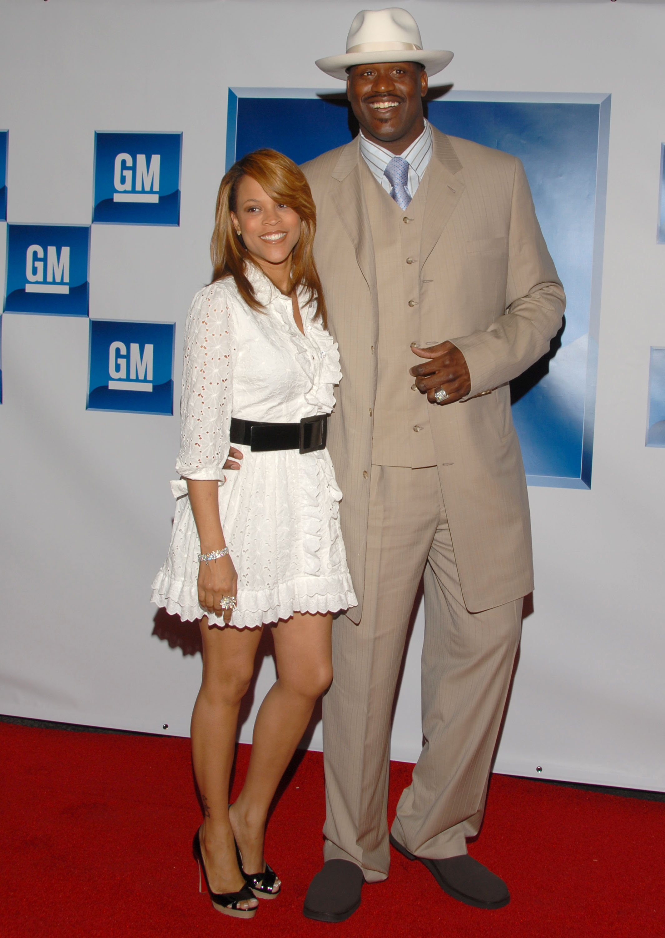 Shaunie and Shaquille O'Neal attend the General Motors All-Car Showdown event in Hollywood, California in July 2006 | Photo: Getty Images