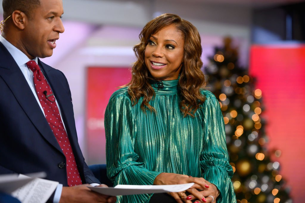 Craig Melvin and Holly Robinson Peete on TODAY| Photo: Getty Images
