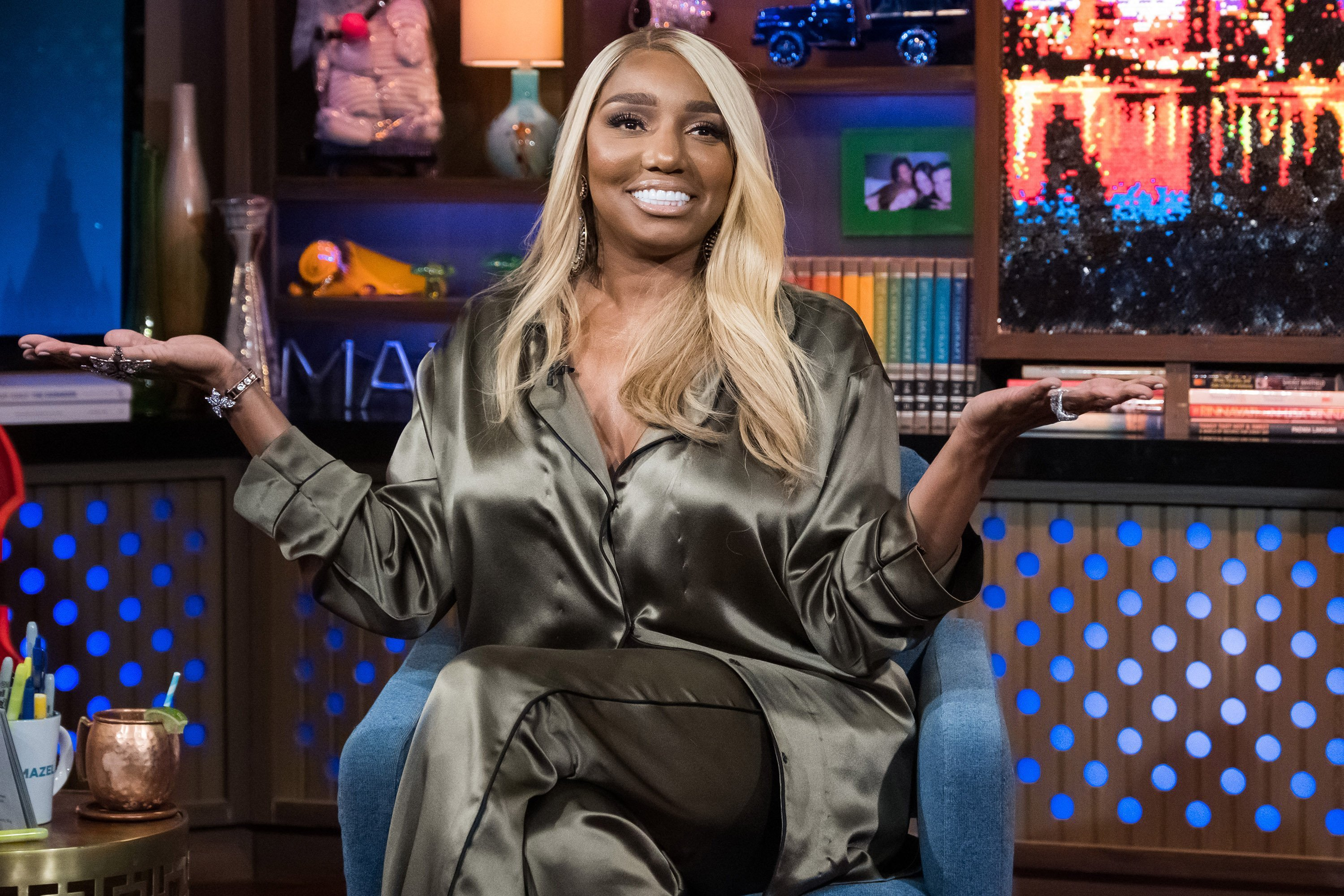 "NeNe Leakes during an appearance on ""Watch What Happens Live"" with Andy Cohen 