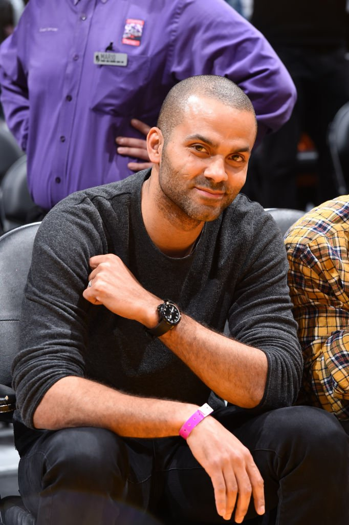 Tony Parker souriant | Source : Getty Images