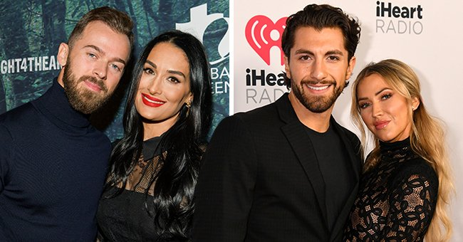 DWTS Stars Kaitlyn Bristowe and Artem Chigvintsev Praise Their Real-Life Partners after Performance