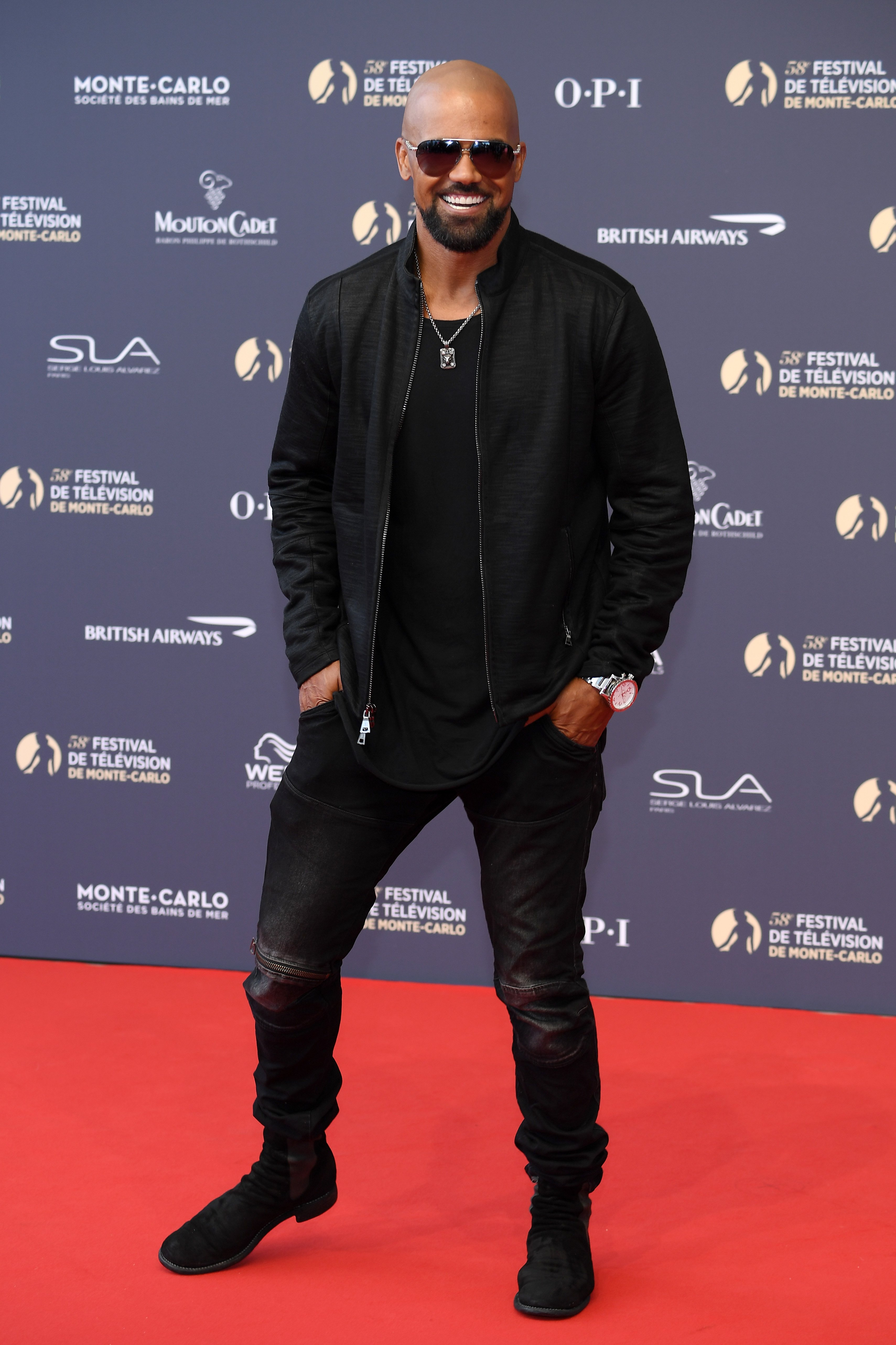 Shemar Moore on June 15, 2018 in Monte-Carlo, Monaco | Source: Getty Images