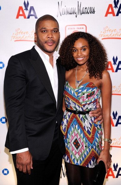 Tyler Perry and Gelila Bekele at the 2nd annual Steve Harvey Foundation Gala in New York City. | Photo: Getty Images.