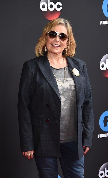 Roseanne Barr attends  2018 Disney, ABC, Freeform Upfront at Tavern On The Green on May 15, 2018, in New York City. | Source: Getty Images.