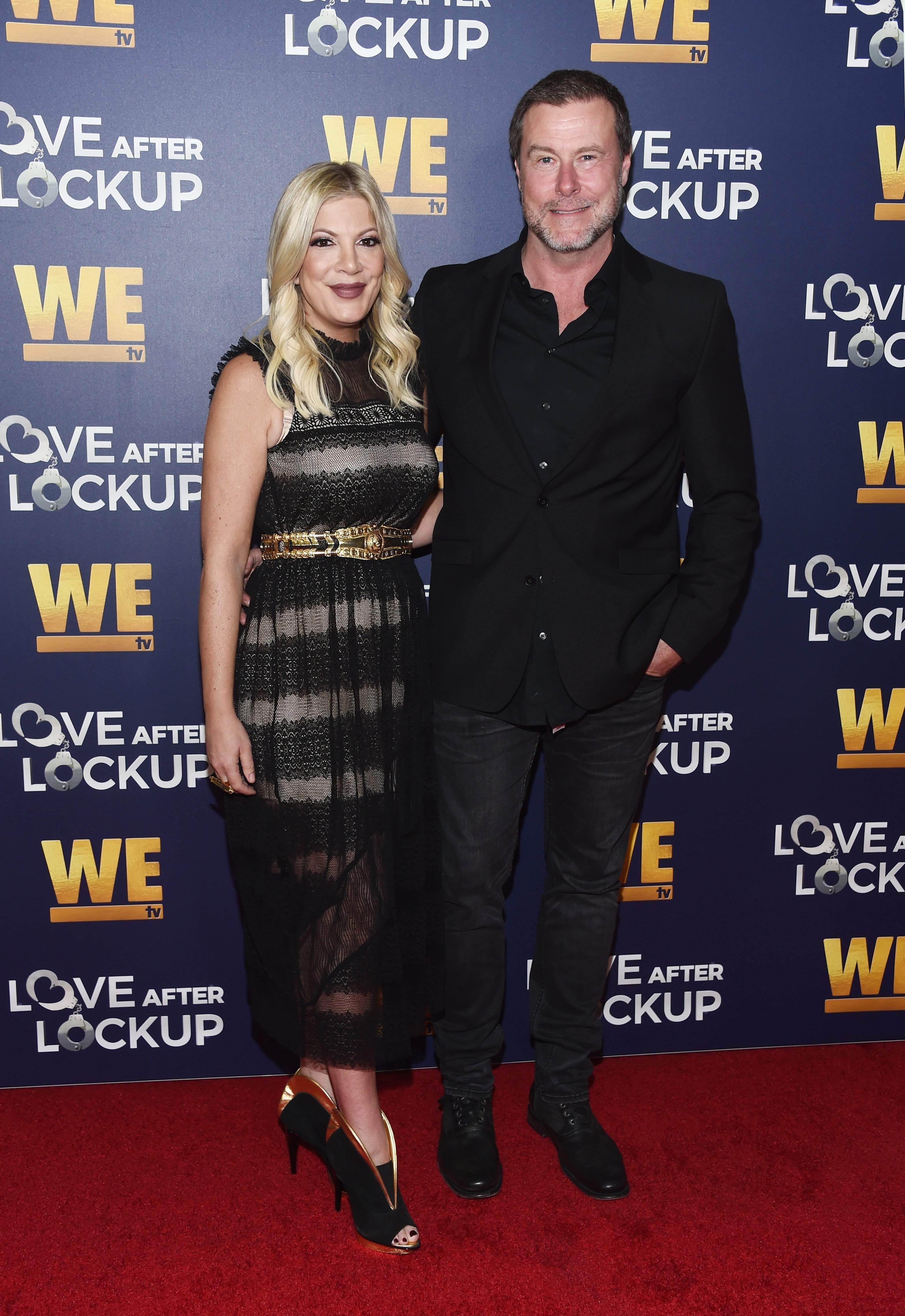Tori Spelling and Dean McDermott attend Real Love: Relationship Reality TV's Past, Present & Future event in Beverly Hills, California | Photo: Getty Images