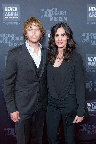 Eric Christian Olsen and Daniela Ruah at The Beverly Hilton Hotel on March 2, 2017 in Beverly Hills, California. | Photo: Getty Images