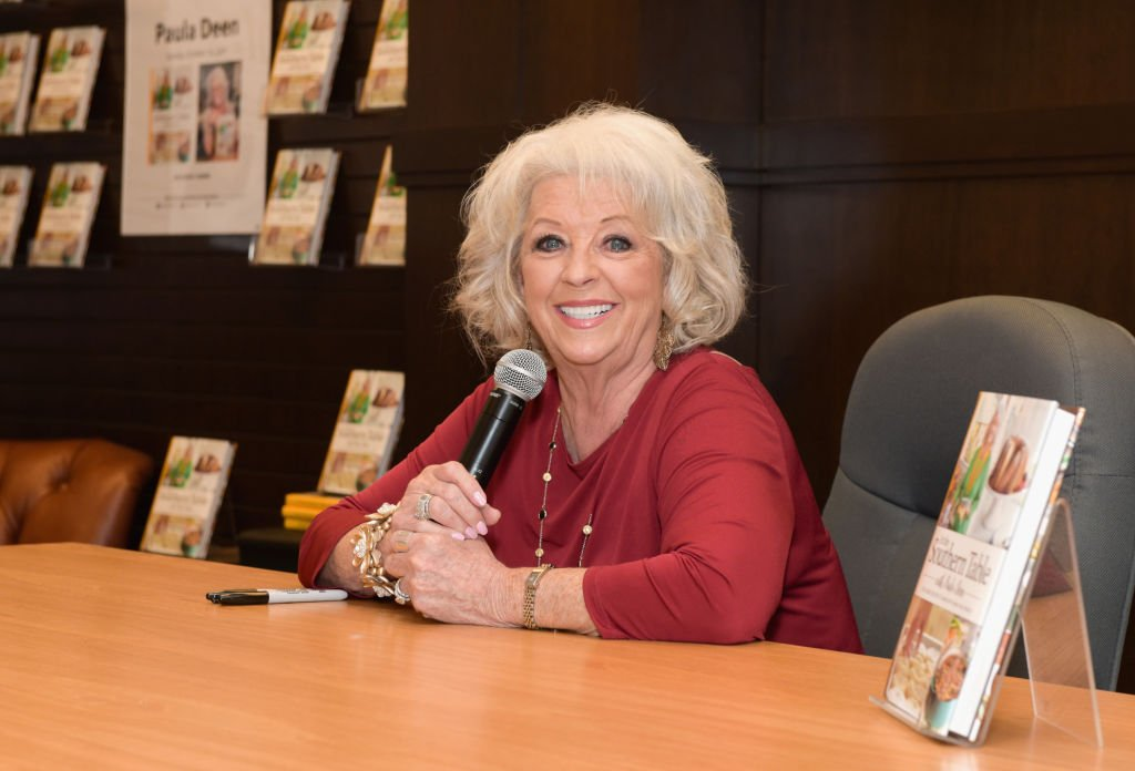 Paula Deen attends her book signing for 'At The Southern Table' at Barnes & Noble at The Grove. | Photo: Getty Images
