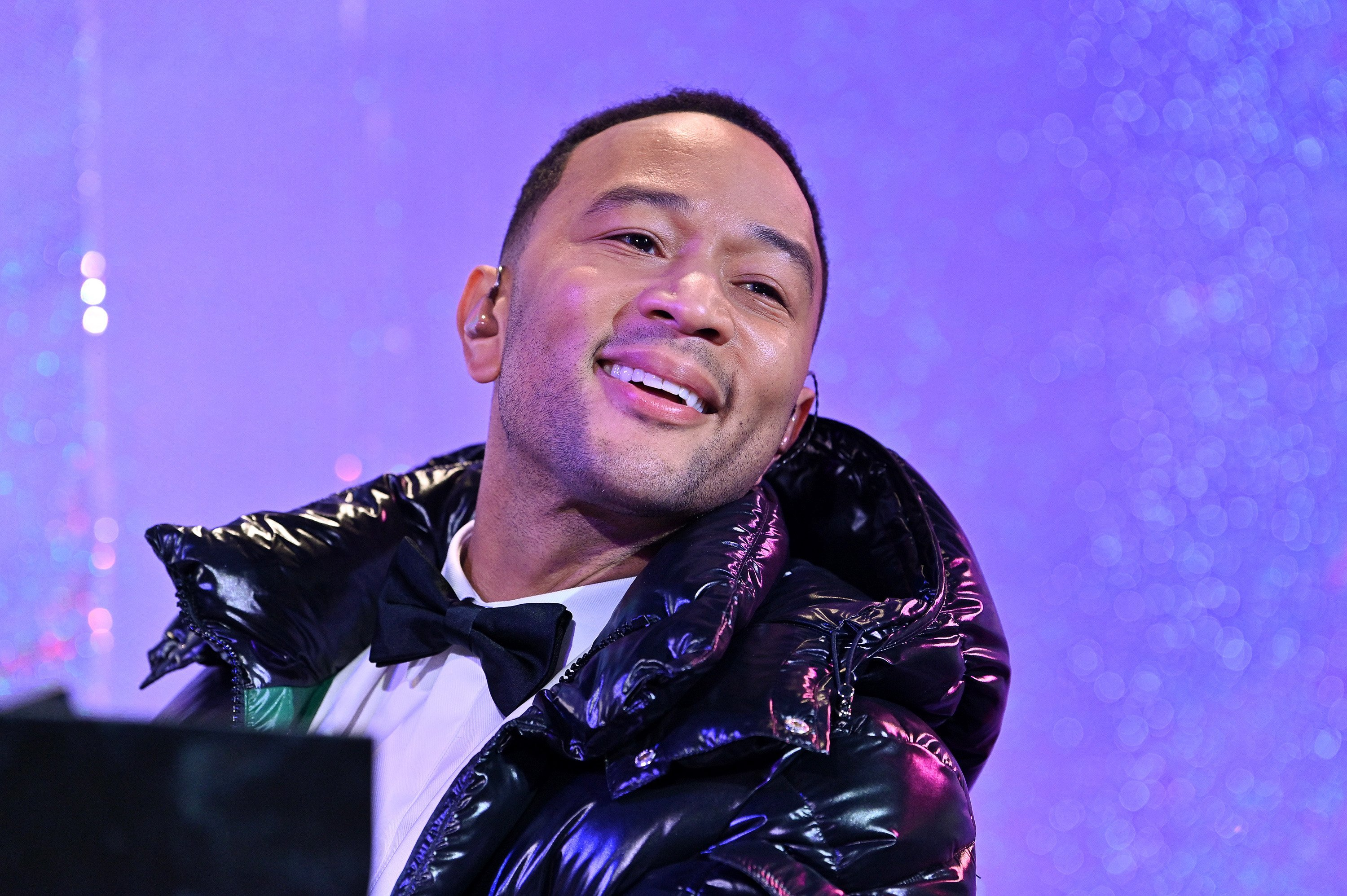John Legend performs onstage at Bloomingdale's holiday windows unveiling at Bloomingdale's 59th Street Store on November 22, 2019, in New York City. | Source: Getty Images.