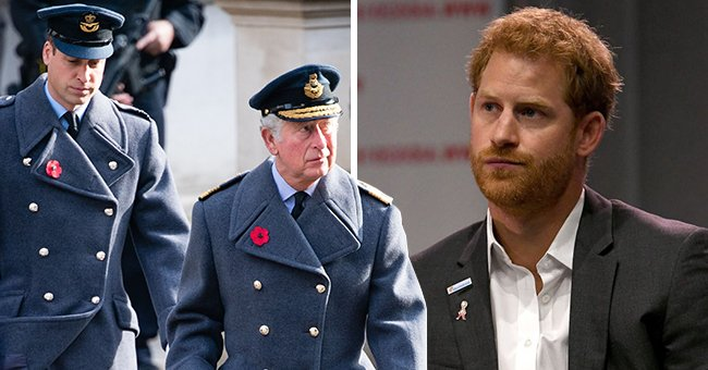 Page Six: Neither Prince Charles nor William Trust Harry Enough to Speak With Him Man-to-Man