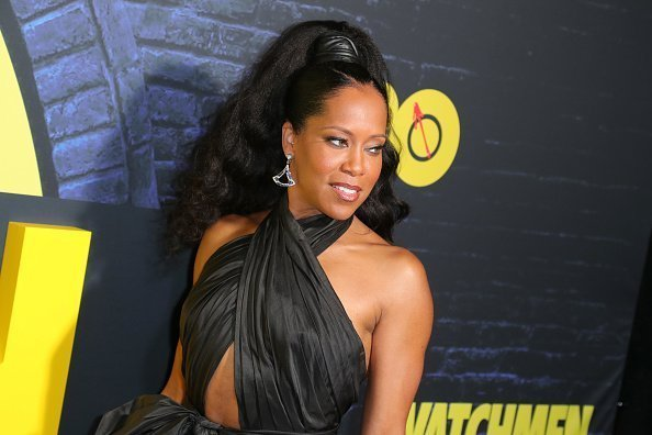 "Regina King at Premiere Of HBO's ""Watchmen"" in Los Angeles, California.