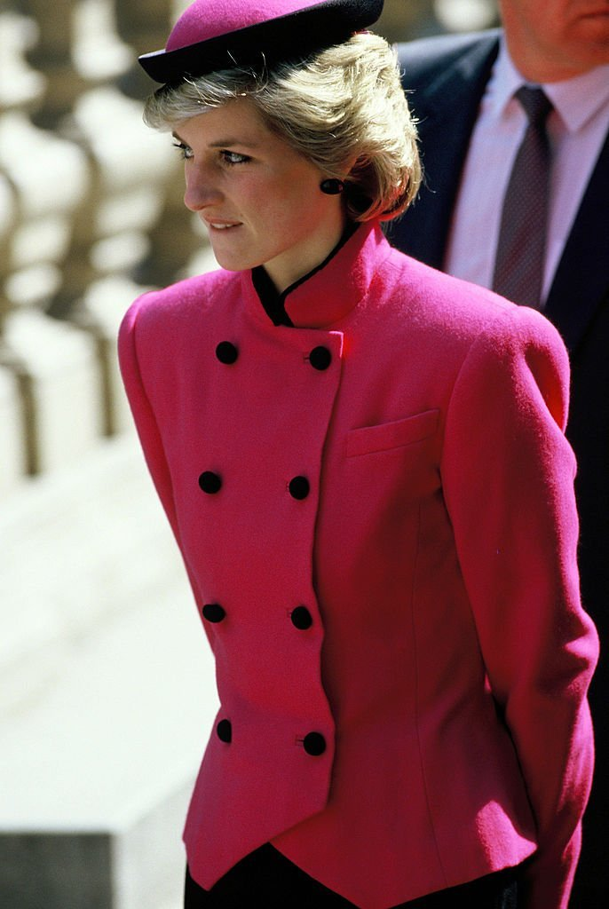 Diana, Princess of Wales, during her official visit to Austria | Photo: Getty Images
