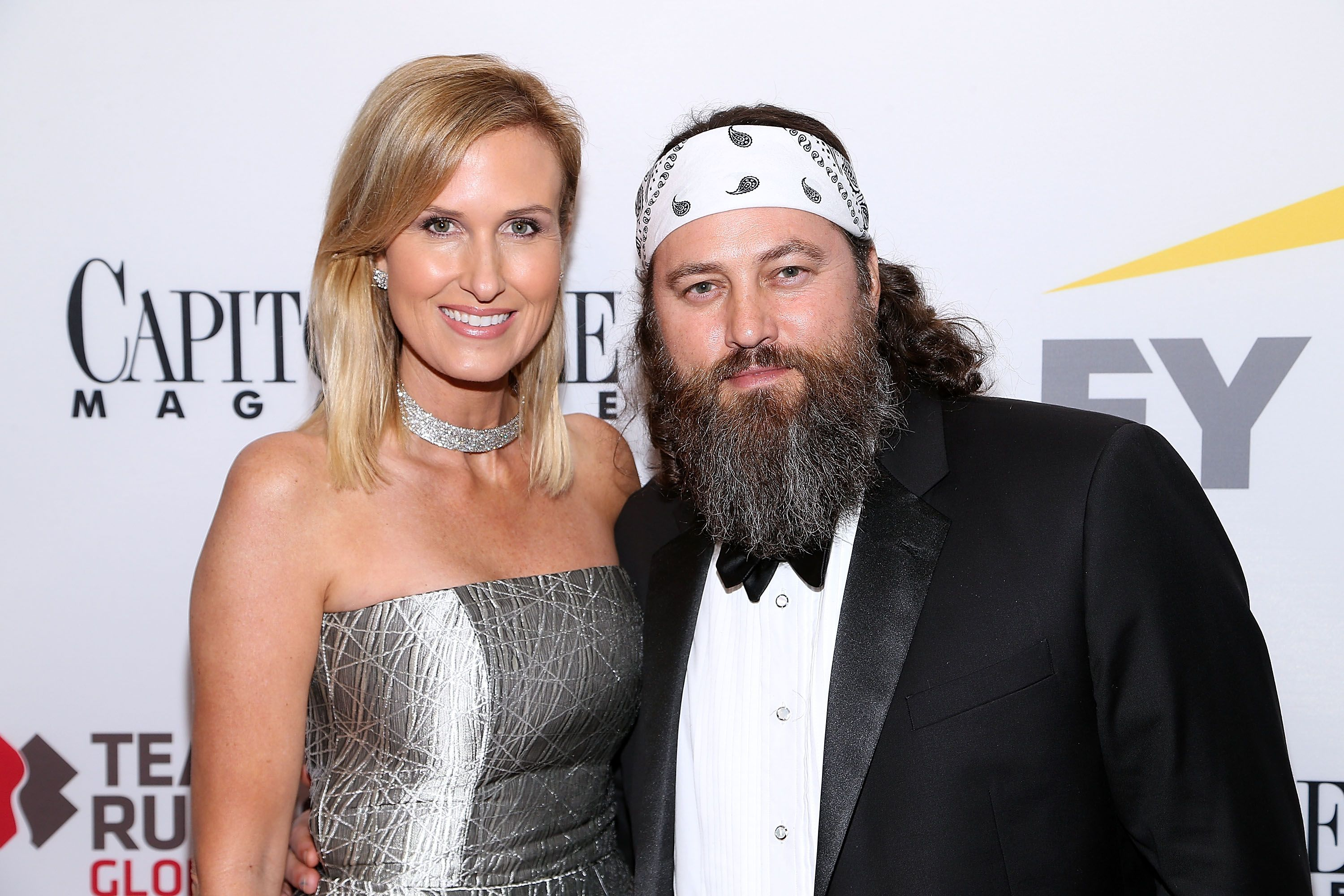 Korie and Willie Robertson at the Capitol File 58th Presidential Inauguration Reception in 2017 in Washington, DC | Source: Getty Images