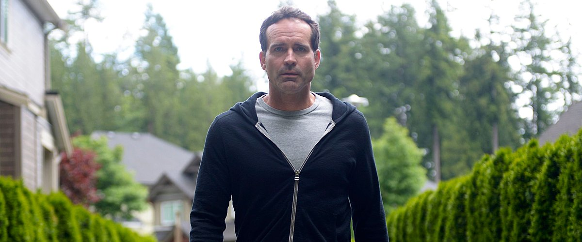 """Jason Patric on set of the """"Pass Judgment"""" episode of """"Wayward Pines"""" on June 02, 2016 