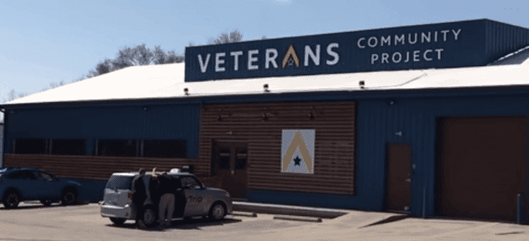 Veteran Community Projekt-Häuser| Quelle: YouTube/News Live Now