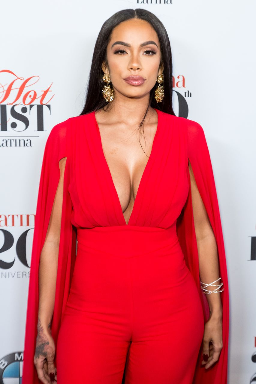 Erica Mena during the Latina Magazine's 20th Anniversary Event  at STK Los Angeles on November 2, 2016 in Los Angeles, California. | Source: Getty Images