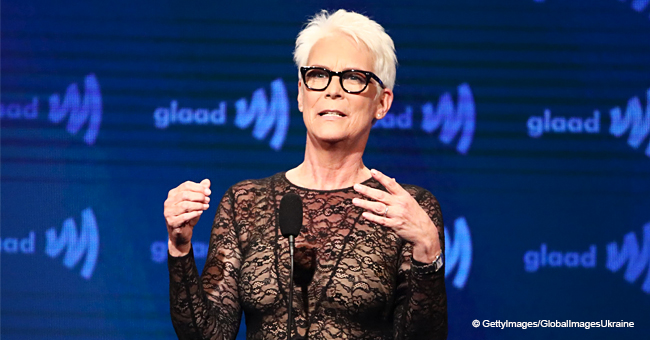 Jamie Lee Curtis Steals the Spotlight in a Sheer Lace Top during Her Latest Appearance