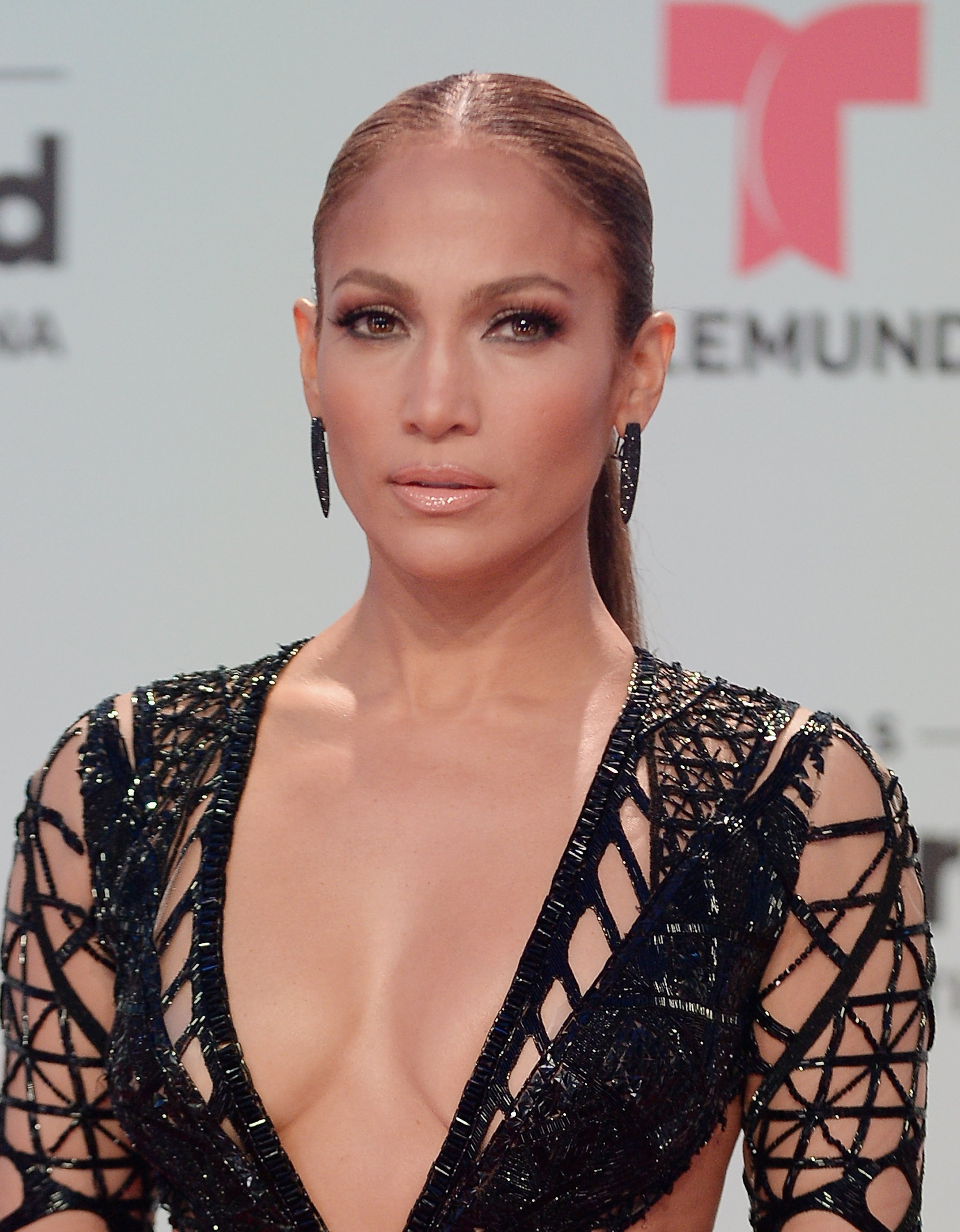 Jennifer Lopez at the Billboard Latin Music Awards at Watsco Center on April 27, 2017 in Miami, Florida.| Source: Getty Images
