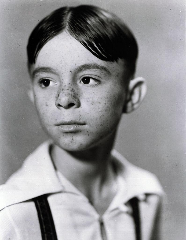 """Portrait of Carl Switzer as Alfalfa for """"The Little Rascals"""" series, originally know as """"Our Gang"""" dated January 1, 1936 