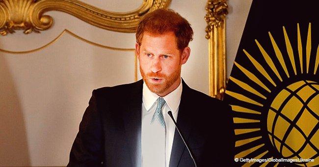 Prinz Harry wird emotional, als er über seine Rolle als künftiger Vater spricht