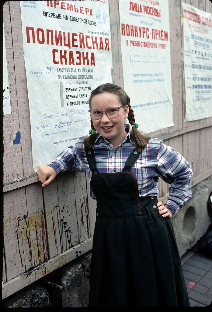 """Tannis Vallely """"Mission to Moscow"""" - Airdate: November 2, 1988.  
